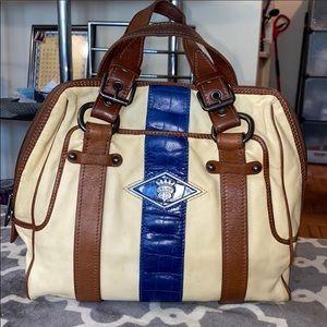 Authentic Celine croc stripe bag limited edition